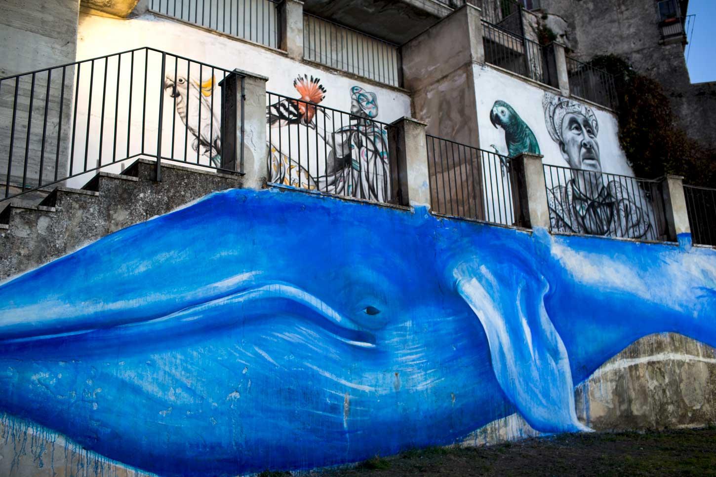 Luvi_Streetart_Re_Magi_sulla_balena